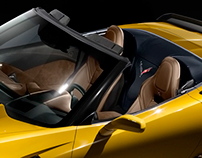 Corvette Z06 Convertible - Speculative renders