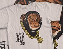 Various T-shirt designs