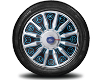 Ford Fiesta Wheel of Fortune
