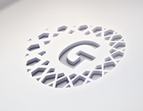 GULF Tech logo & identity