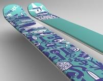 Danger Skis for TJ Schiller and CoreUPT