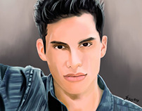 Fan art: Marvin Cortes ANTM cycle 20 (January 2014)