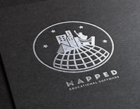 """""""Mapped"""" Logo + Branding"""