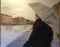 Rain at the Arno by Jesse Waugh jessewaugh.com
