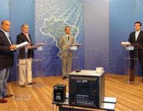 """Eleições 2012: """"Candidatos se 'alfinetam' em debate"""""""
