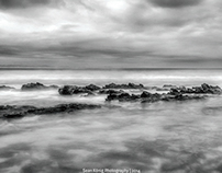 South African Seascapes - Black and White