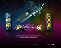 Radio Station Dynamic Flash Template