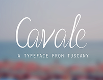 Cavale - A Typeface from Tuscany
