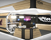 POSM Exhibition stand for Saturn ltd.