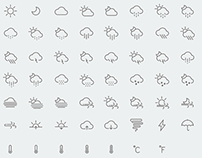 Weather Light Icons (IOS 7 Style)