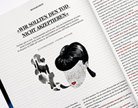 Illustrations for HOHE LUFT MAGAZIN 2/2013