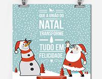 E-mkt/Cartão de Natal Revelare - Design Gráfico