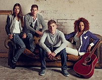 Voi Jeans AW11-12 campaign shoot