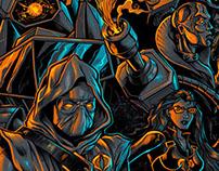 Gi Joe Cobra / Trasformers' Decepticons T-Shirt