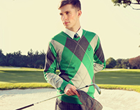 Portugal Golfing Fashion Editorial