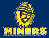 Football Branding Denver Miners