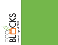 Eco Blocks Annual Report and Identity