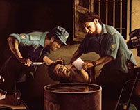 "Amnesty International ""Caravaggio"" Illustration"