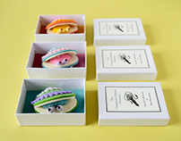 Little Clam Brooches