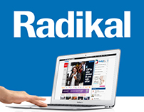 Radikal Website Redesign