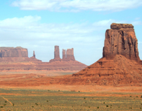 John Ford's View of monument valley