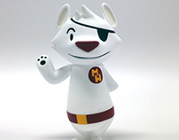 """Nakanari of Mai Hiro's """"Danger Bear"""" custom of Philip L"""