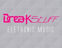 Break Stuff   Eletronic Music - Logotype