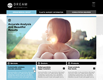 Dream Aesthetics Website Design