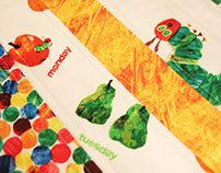The Very Hungry Caterpillar Theme Quilt
