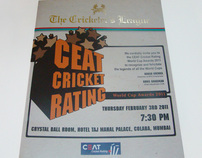CEAT Cricket Rating Invite 2011
