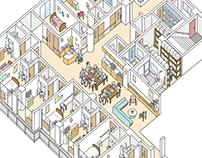 The senior citizens' home - 1