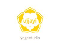 Ujjayi Yoga Studio Logo