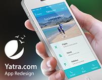 Yatra.com app – Redesign
