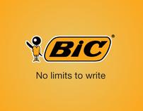 Bic - No limits to write