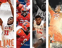 Illinois Game Posters