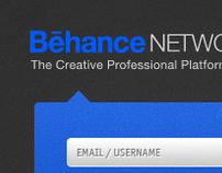 Behance iPad Application (Concept)