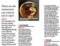 Philadelphia magazine 50 Best Restaurants