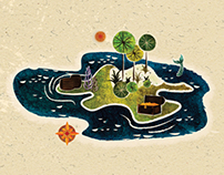 Island Spot Illustration