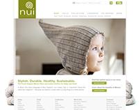 Nui Organics - website