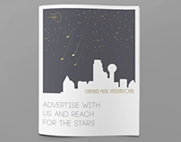 Chamber Music International ad brochure