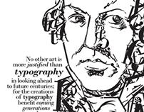 Typography Portrait: Giambattista Bodoni