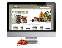 Healthy Goods Responsive Web Development