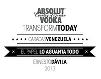 ABSOLUT VODKA / #TRANSFORMTODAY