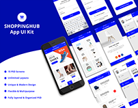 SHOPPINGHUB Ui Kit Design
