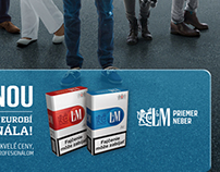 Philip Morris-LM cigaret campaing