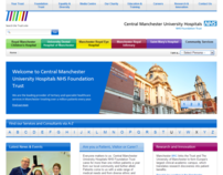 Central Manchester Foundation Trust Website