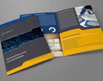 Company Brochure Bi-Fold Template Vol.17