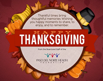 PNHF Thanksgiving Greeting Card 2013