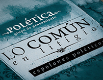 Polética - Book cover design