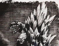 Godzilla vs Elephant